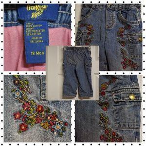 OshKosh embroidered jeans